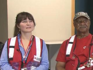 Triangle Red Cross volunteers return from Texas, head to USVA for hurricane relief