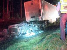 Wrong-way I-95 driver dies after head-on crash near Roanoke Rapids