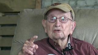 WWII veteran turns 100