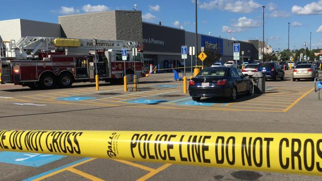 27 2017 Shooting Outside A Walmart Fayetteville NC