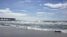 IMAGE: Wrightsville Beach lifeguards warn swimmers of dangerous rip currents