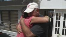 Former WRAL reporter has emotion reunion with family in Puerto Rico