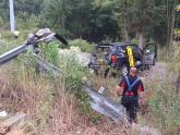 IMAGES: Man killed in crash on I-95 in Johnston County