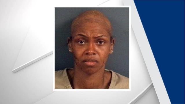 At first, authorities said it appeared Chrystal Matthews had shaved her head before her arrest. Family members said she had alopecia, at type of hair loss, and was not wearing a wig in her mug shot.