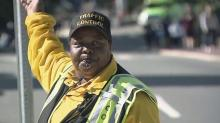 IMAGE: UNC crossing guard gets cross-country trip thanks to students' generosity