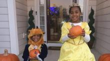 IMAGES: Triangle trick-or-treaters enjoy Halloween