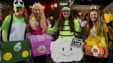 IMAGES: Thousands flood Franklin Street for Chapel Hill Homegrown Halloween