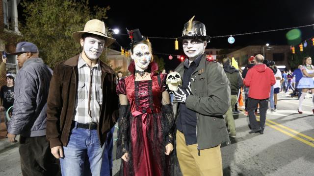 Chapel Hill Halloween 2017