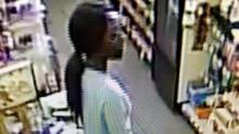 IMAGES: Lumberton police search for female suspect in three armed robberies