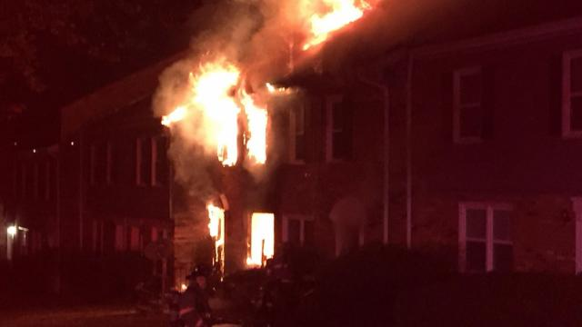 More than a dozen people were displaced from their homes early Sunday morning after a fire in Durham.