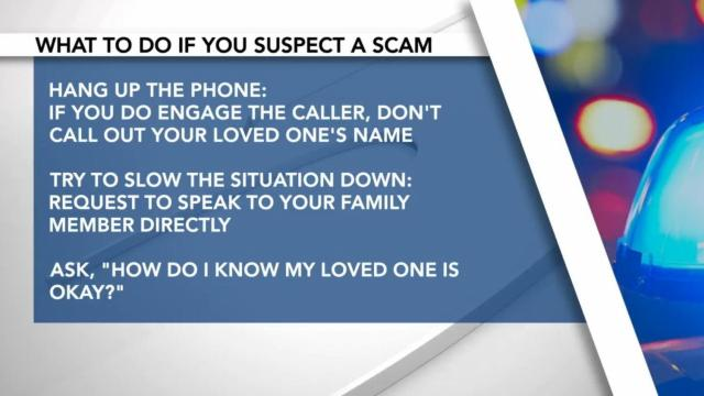 Virtual kidnapping scam affects Triangle family
