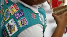 IMAGE: Girl Scouts' post about hugging goes viral