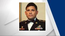 IMAGE: A year after soldier's death, family keeps case in public eye