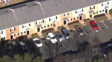 IMAGES: Corrections officer shot at Durham apartment complex