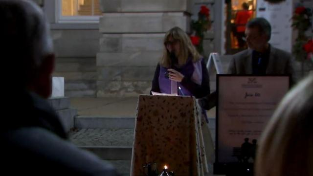 Raleigh vigil honors homicide victims, family members