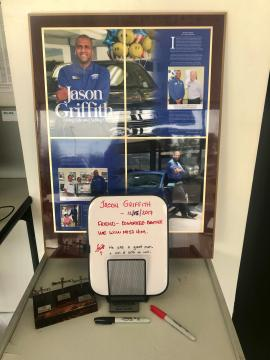 Jason Griffith memorial