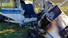IMAGE: Pilot in critical condition after small plane crash near Louisburg