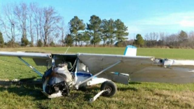 Pilot injured in small plane crash is Franklin County