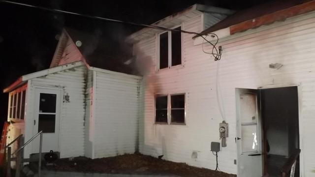 Dog dies in Vass house fire, firefighters rescue other pet