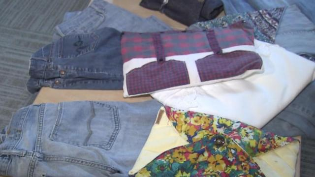 NCSU students turn sentimental items into new products