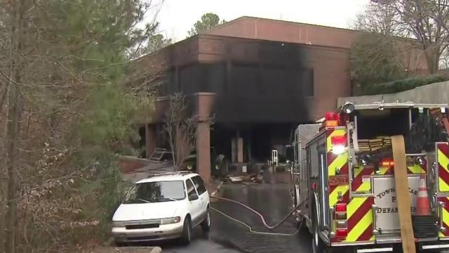 Trans World Radio building damaged in fire