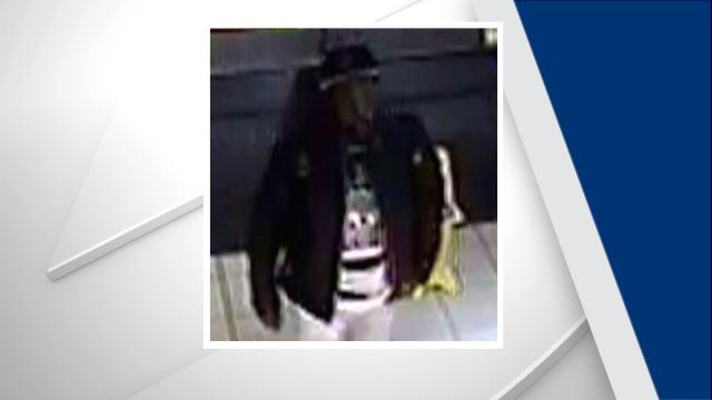 Durham police want to identify this man, who is suspected of shooting a woman outside Northgate Mall on Dec. 23, 2017.