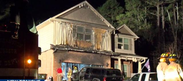 Man seriously burned in Johnston County house fire