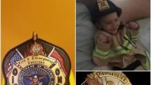 IMAGE: NC fire departments rally to honor 4-year-old boy killed in blaze