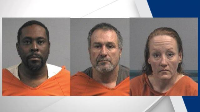 An employee with the North Carolina Department of Transportation and two others have been arrested on multiple charges after thefts were reported to the Wayne County Sheriff's Office.