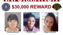IMAGE: FBI offers $30K reward in case of 3 dead in Lumberton