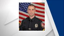 IMAGE: Durham officer jumps into icy creek to help women after car crash