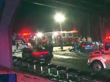 Wrong-way crash on I-40