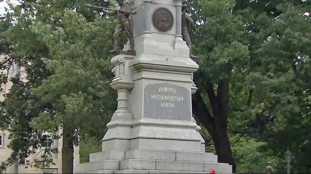 Committee meets to talk about NC Confederate monuments