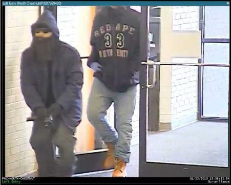 Police: Lumberton bank robbery suspects wore masks, fake beards