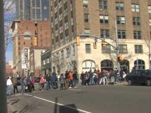 Dozens march to NC state capitol in support of immigrants facing deportation
