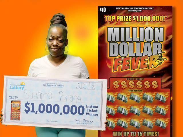 Craving for chicken wings leads to $1 million lotto win for Durham