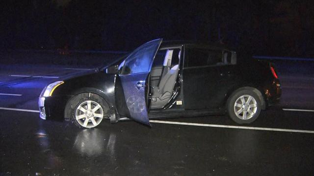 Wake Forest police are searching for a suspect Wednesday morning who led them on a car chase overnight.