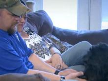 Therapy dog gives soldier new look on life