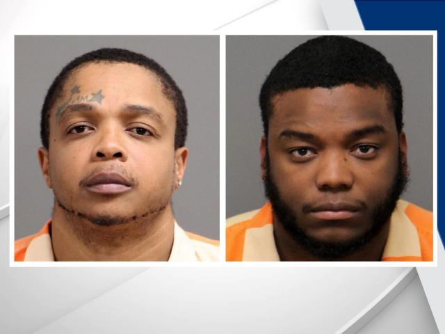 Timothy Tyrone Horton, left, and Antwione Jerome Pulley
