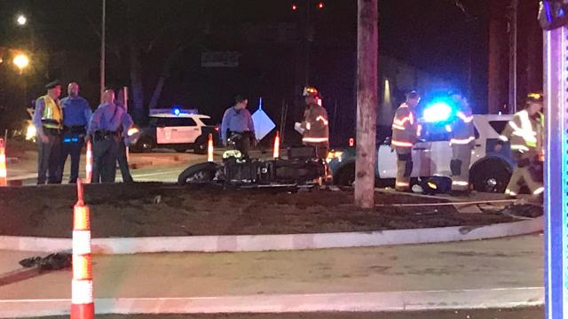 2 injured in motorcycle crash on Hillsborough Street :: WRAL com