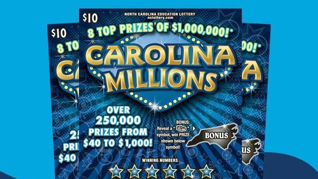 Scratch-offs with dad land Chapel Hill man $1M lottery prize