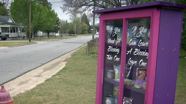 Goldsboro Residents Share Blessings Through Street Corner Boxes