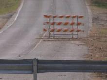 DOT replaces Durham road still under water from Hurricanes Matthew