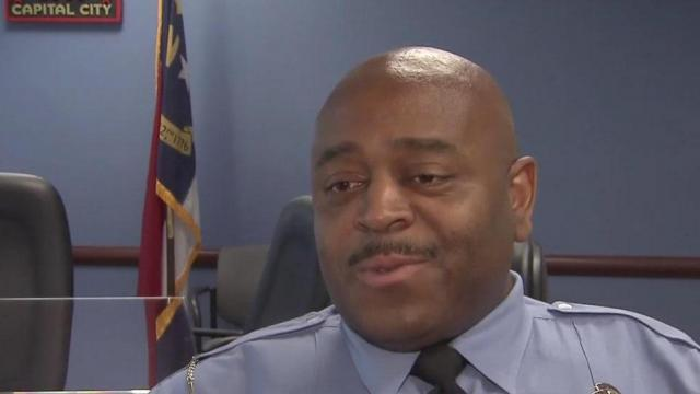 Raleigh Police Officer Roderick Lee