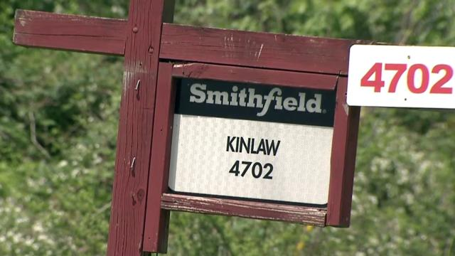 Kinlaw Farms, Smithfield Foods operation in Bladen County