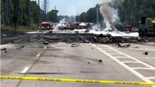 IMAGES: At least 5 dead in military plane crash in Savannah