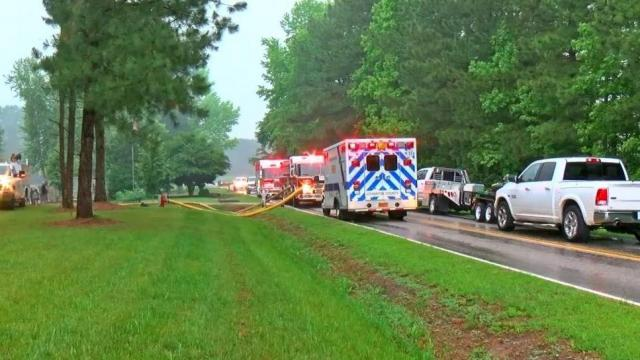 Johnston County woman's house destroyed by fire