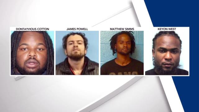 Dontayvious Cotten, James Powell, Matthew Simms, Keyon West, Enfield quadruple homicide