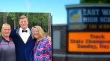 IMAGES: 'Our valedictorian:' Wake County family buys massive billboard space to congratulate son