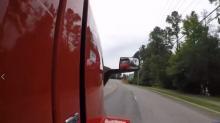 IMAGE: Shortage of big rig truck drivers may impact consumer costs